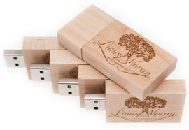 Wooden usb's