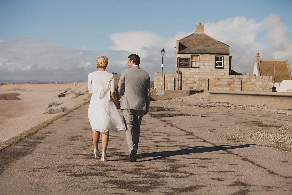 Beach wedding Dorset