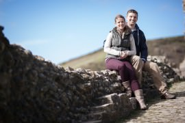 Corfe Castle Engagement Photography_0018