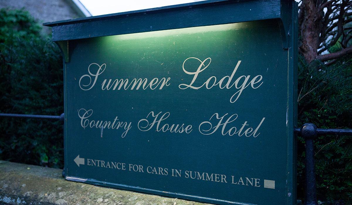Summer Lodge Wedding