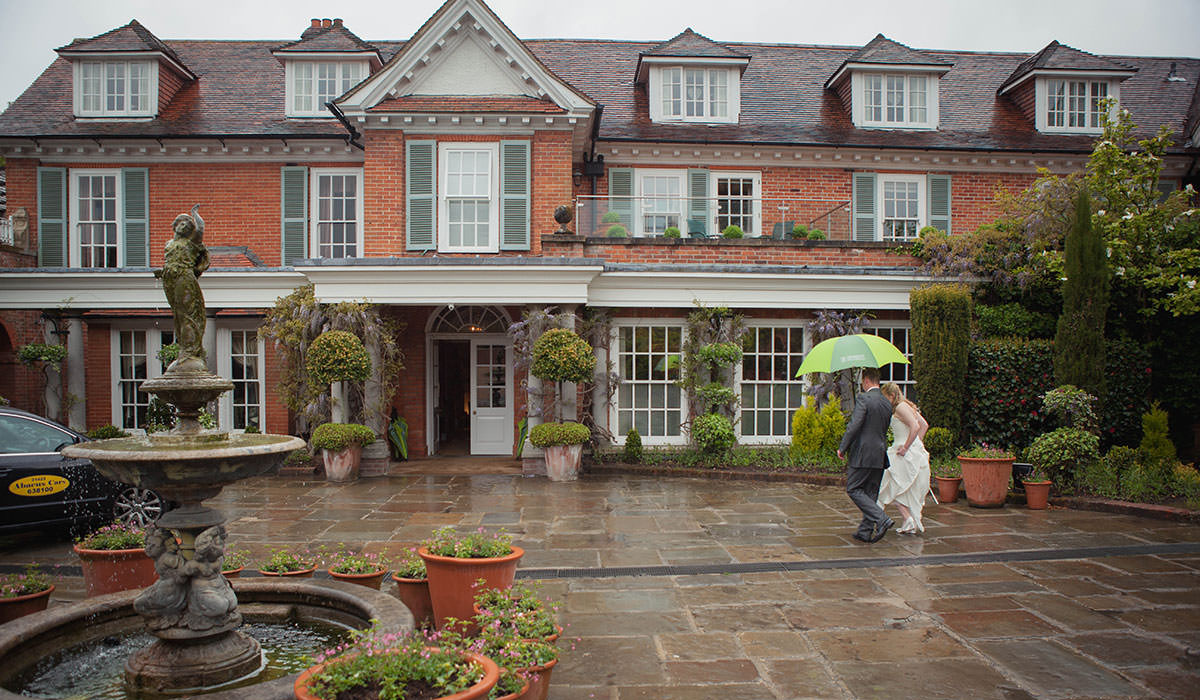 Chewton Glen Hampshire Wedding Venue
