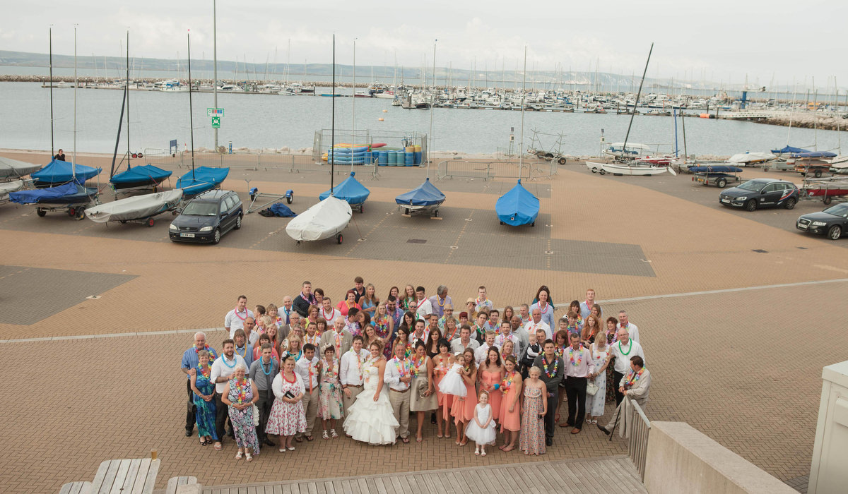 Weymouth & Portland Sailing Academy Wedding Photographer