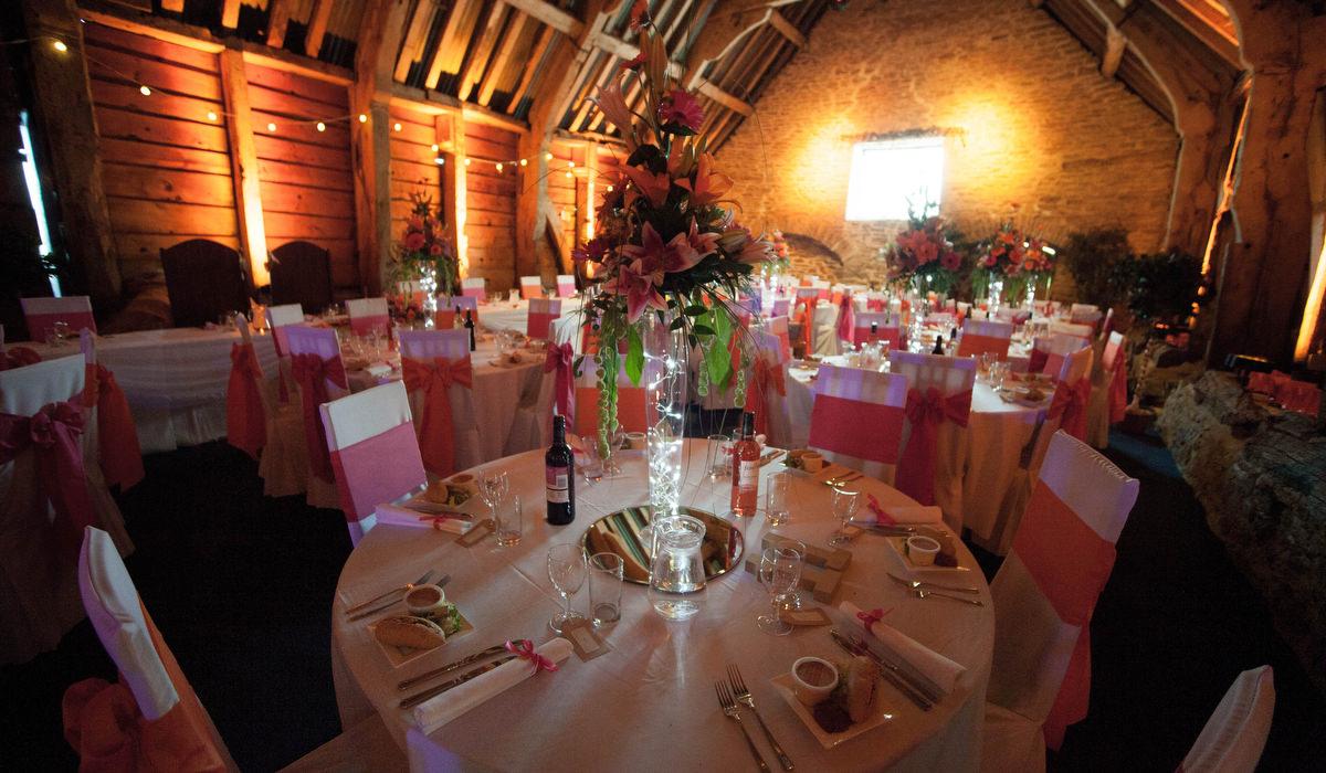 Stockbridge Farm Barn Wedding