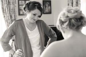 Admiring Bridesmaid