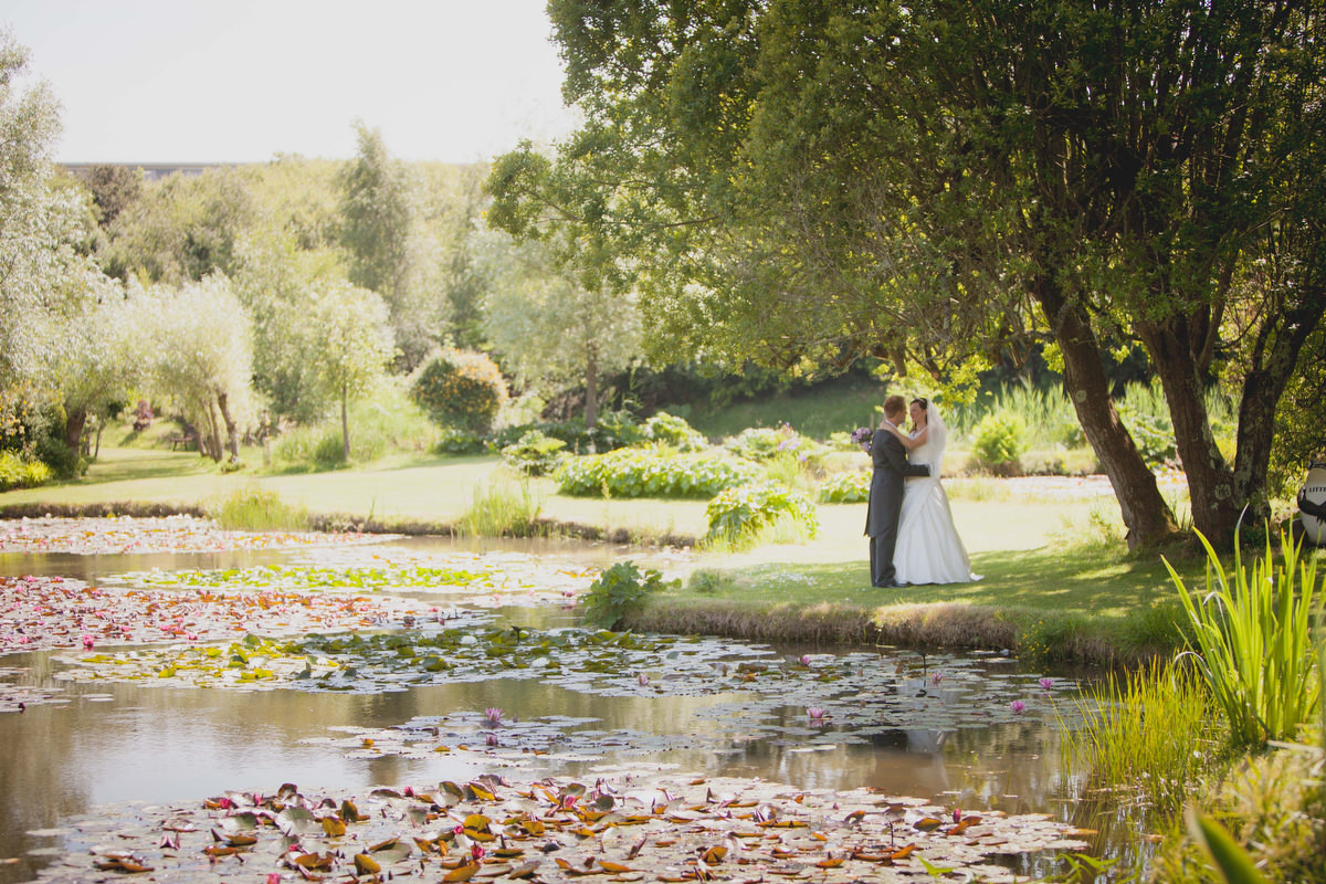 Donna & Ed's Water Garden Wedding Preview