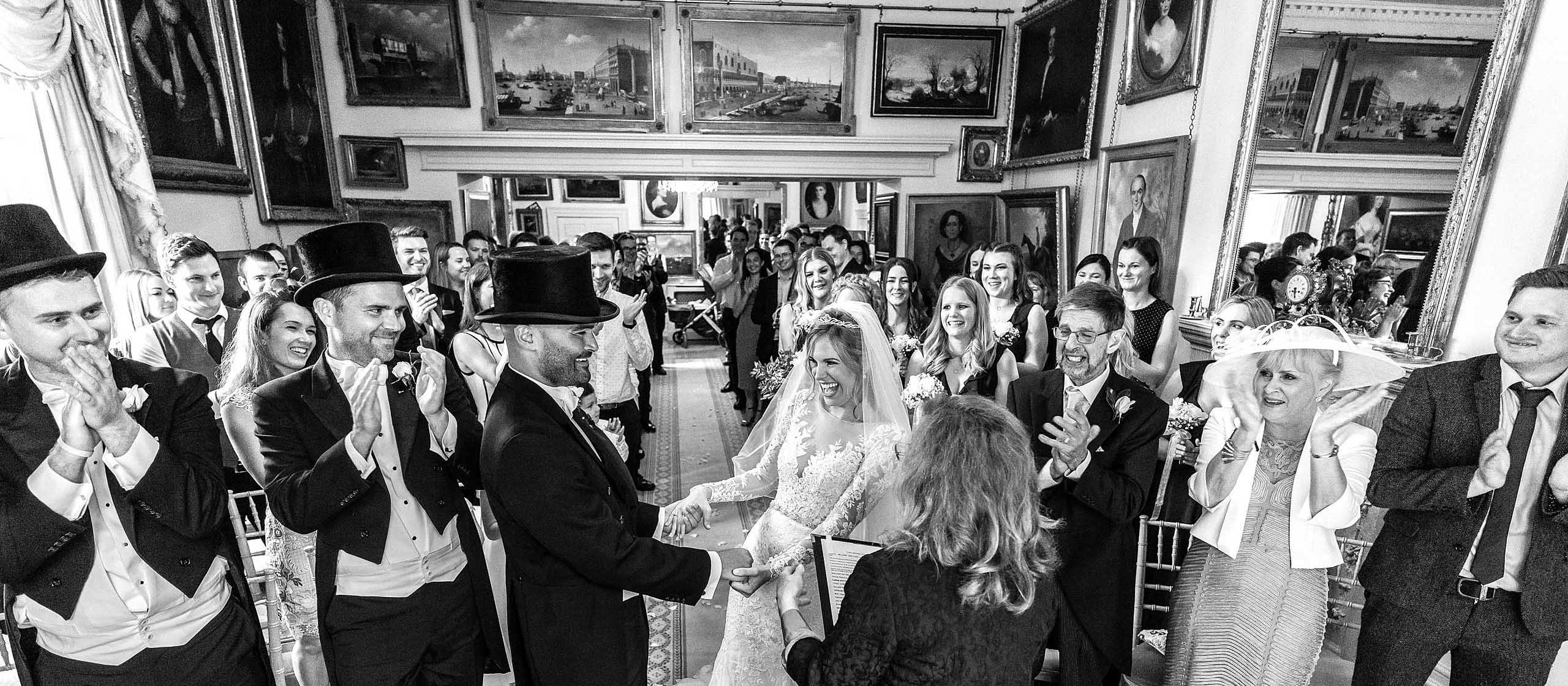 Maunsel House Wedding Photographer - Marriage declaration