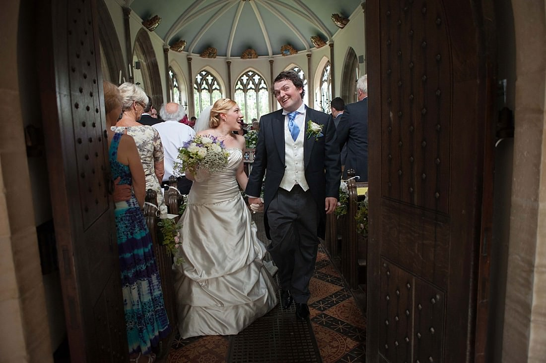 St Nicholas Church Moreton Wedding