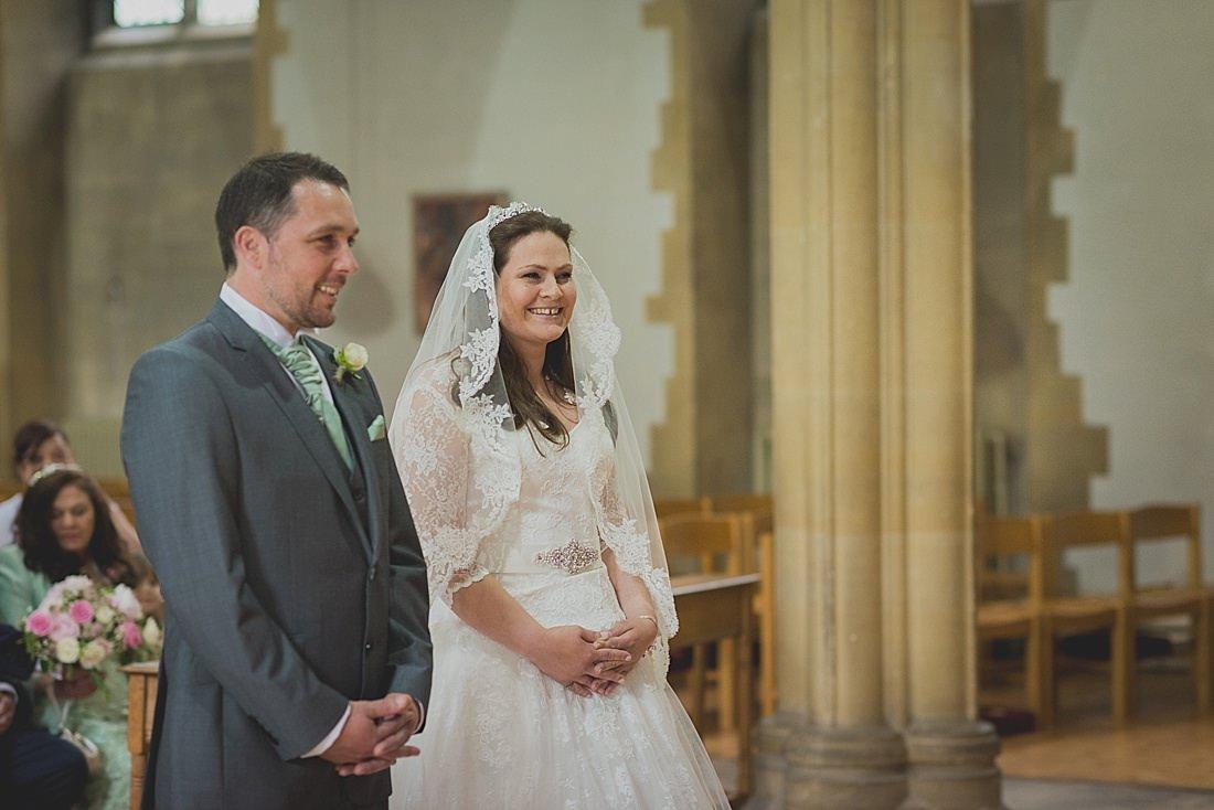 St Aldhelm's Branksome Wedding ceremony
