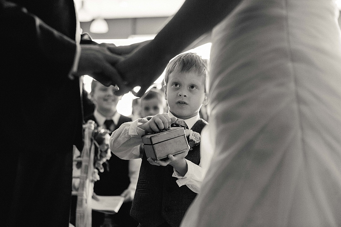 Ring Bearer Pronounced Husband Wife Wedding Party Weymouth Bridal Portraits
