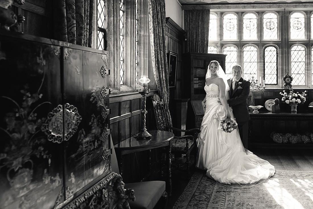 Bridal portrait at Athelhampton House