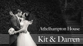 Athelhampton House Wedding Photofilm of Kit & Darren
