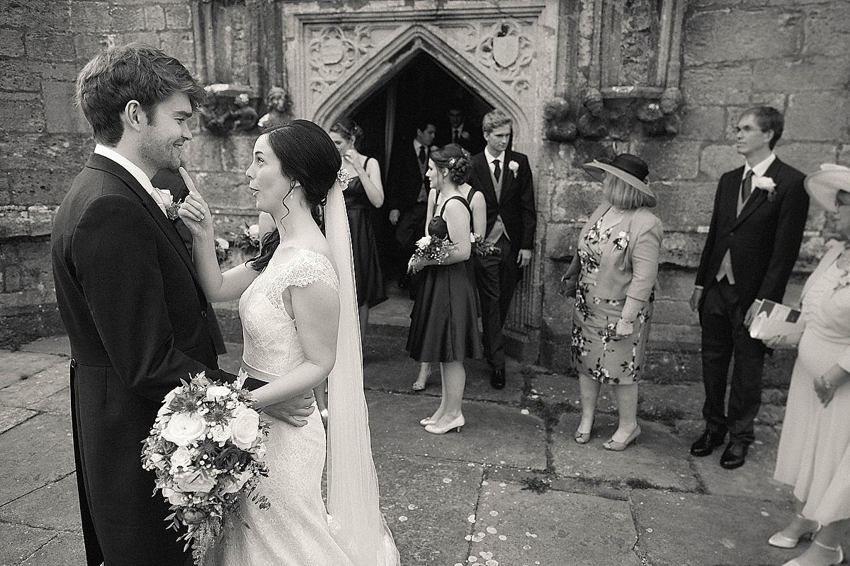 St Edwards Corfe Castle Wedding