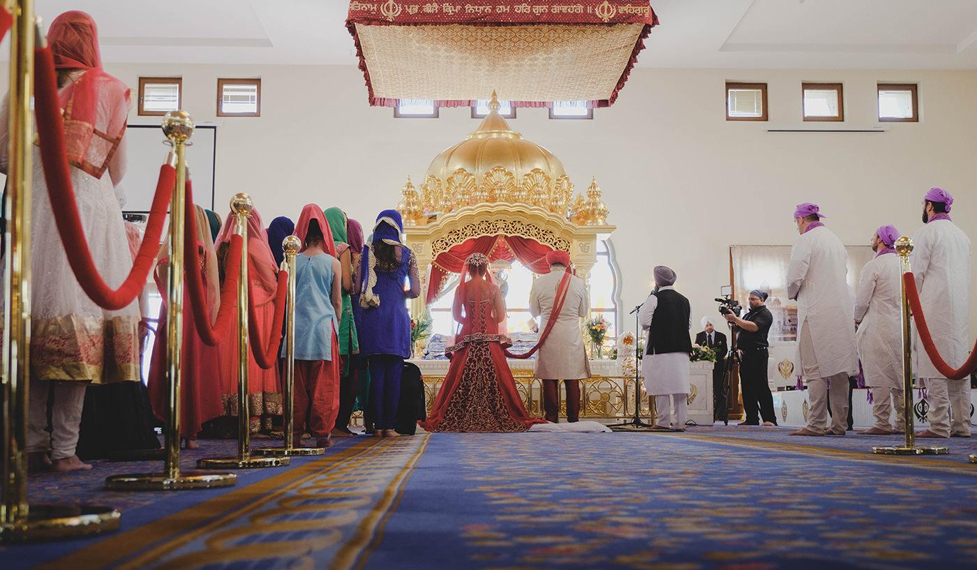 Gravesend Gurdwara Wedding Photographer Sikh Wedding