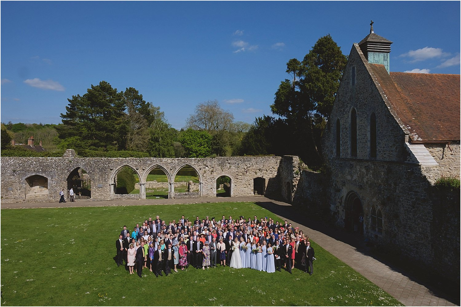 Wedding Photographers Beaulieu Abbey