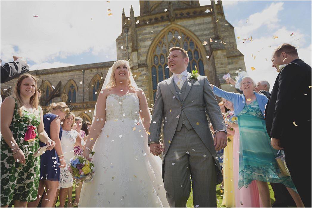 Milton Abbey Wedding