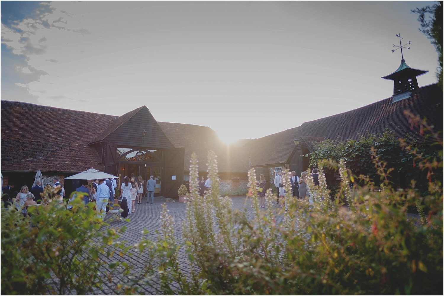 Old Luxters Barn Wedding