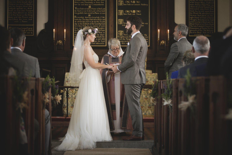 Sherborne Church Wedding