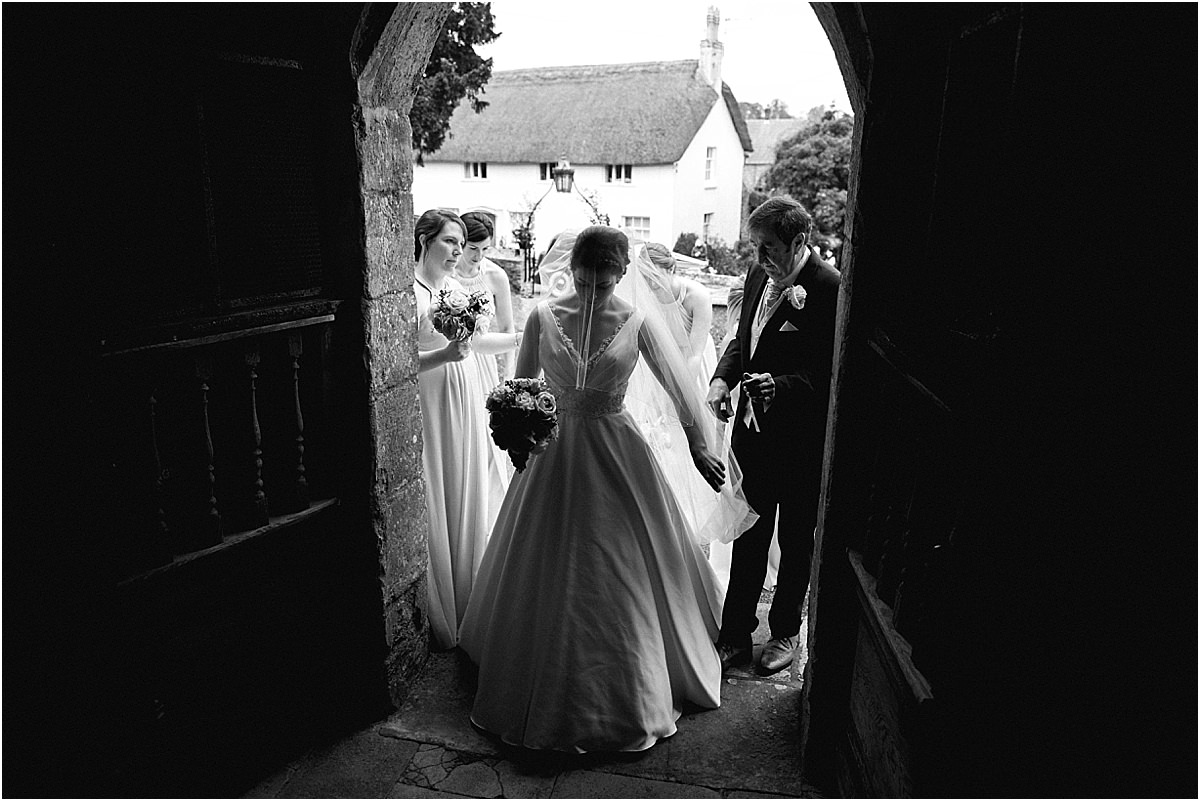 St Mary's Church Puddletown Wedding Photographer