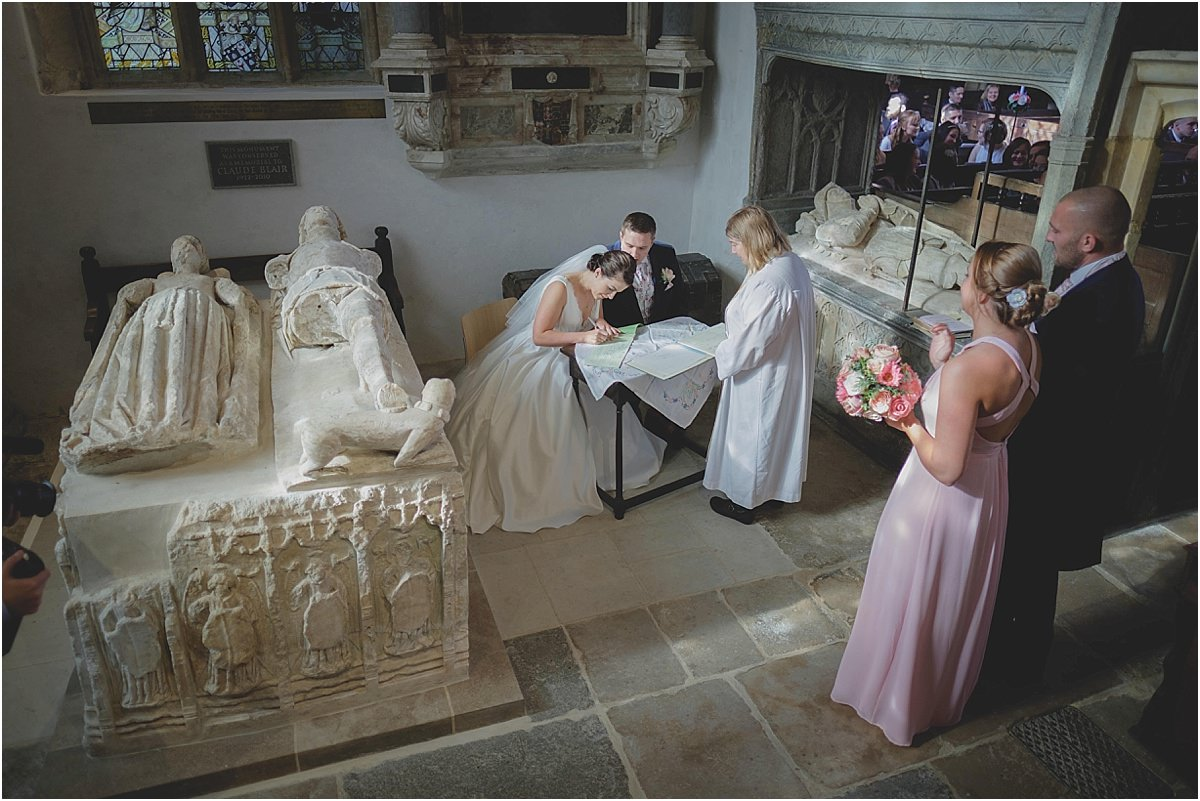 St Mary's Church Puddletown Wedding Photography