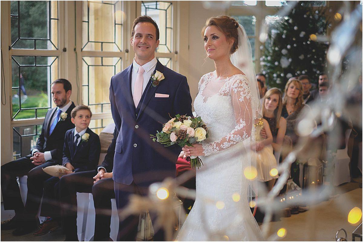 Highcliffe Castle Christmas Wedding Photographers