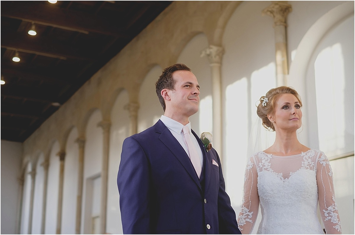 Highcliffe Castle Christmas Wedding Photographers