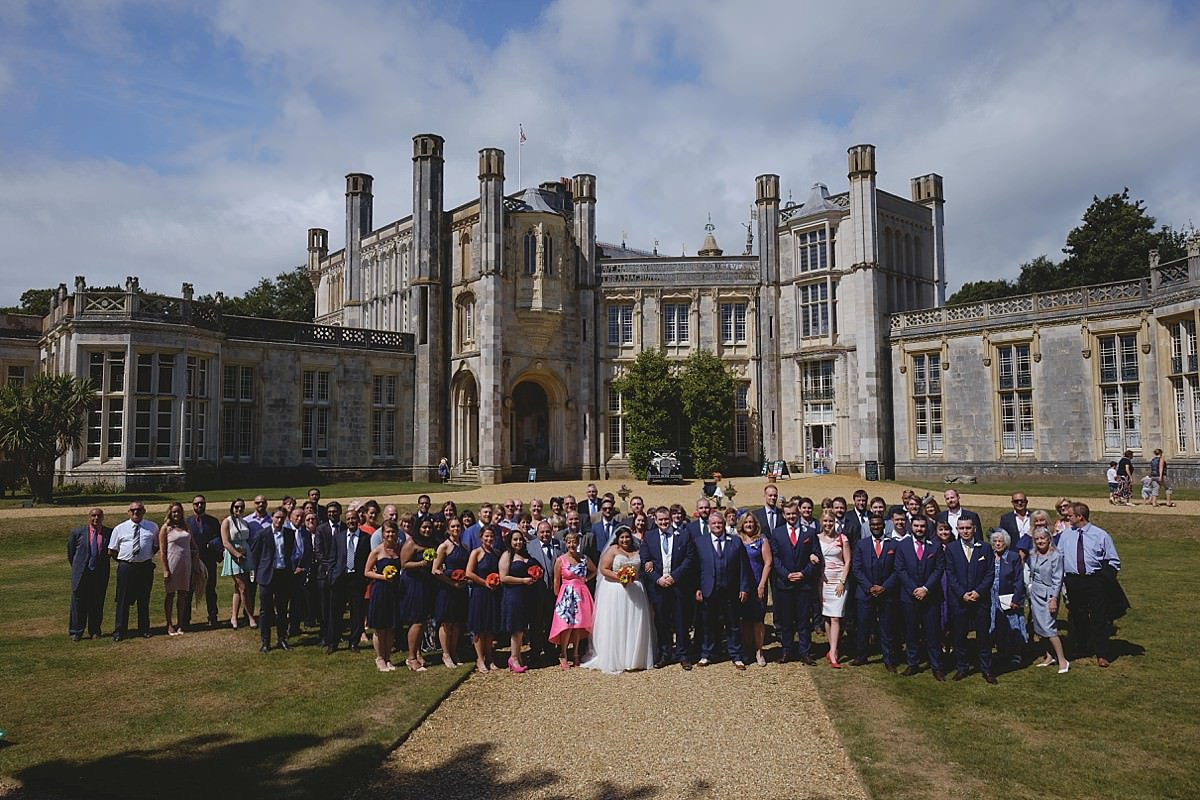 Highcliffe Castle Wedding Photographers