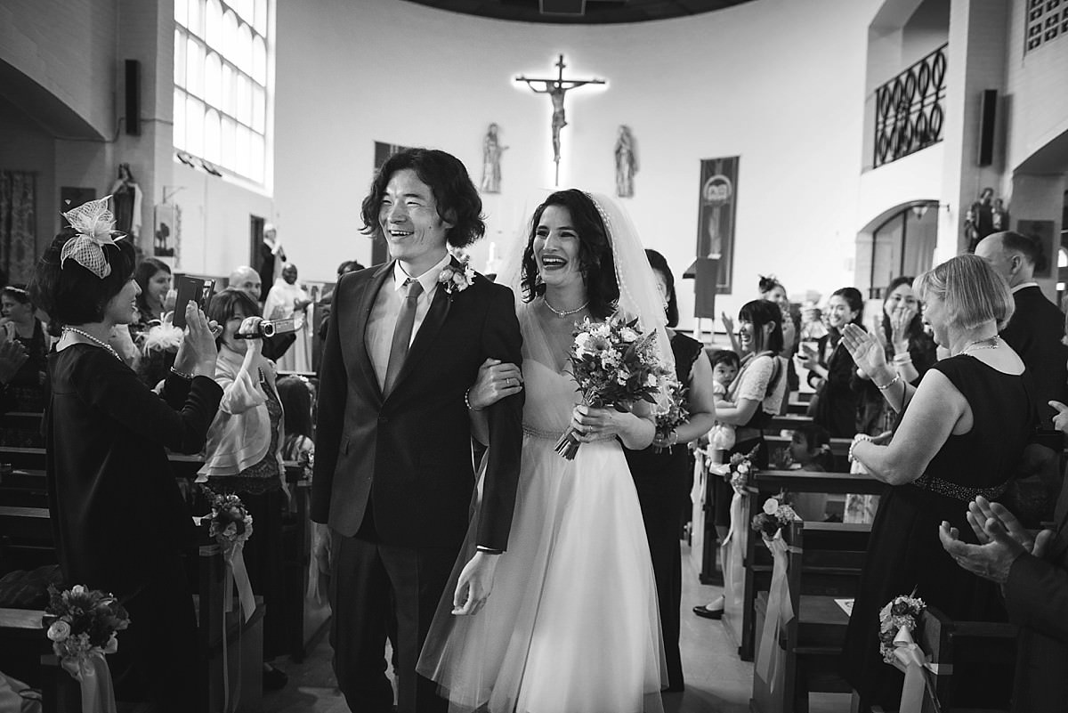 St Teresa's Church Wedding Borehamwood