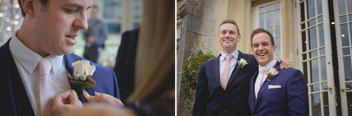 highcliffe castle winter wedding photographer