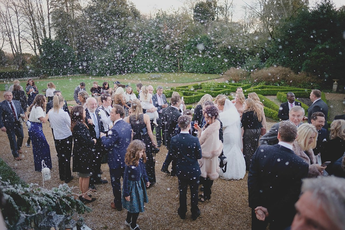 highcliffe castle winter wedding