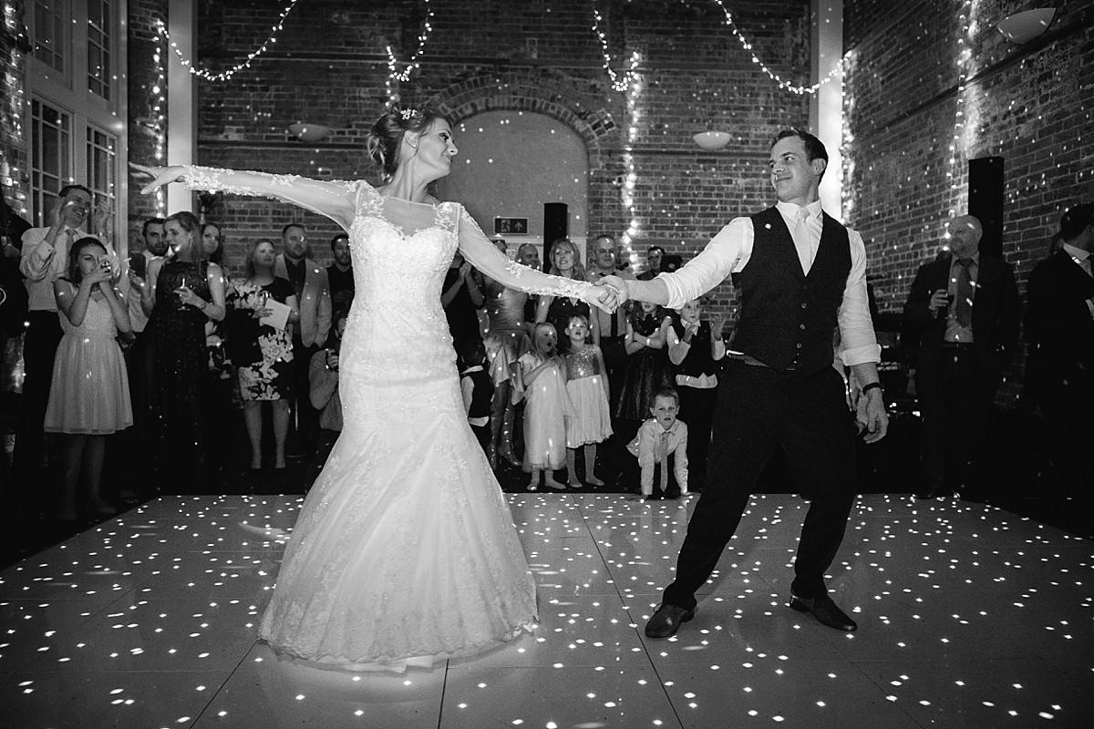 highcliffe castle winter wedding