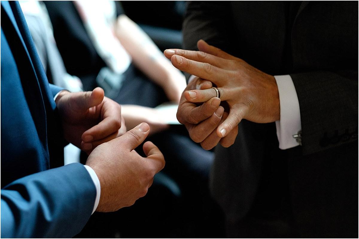 Gay Wedding at Minterne House