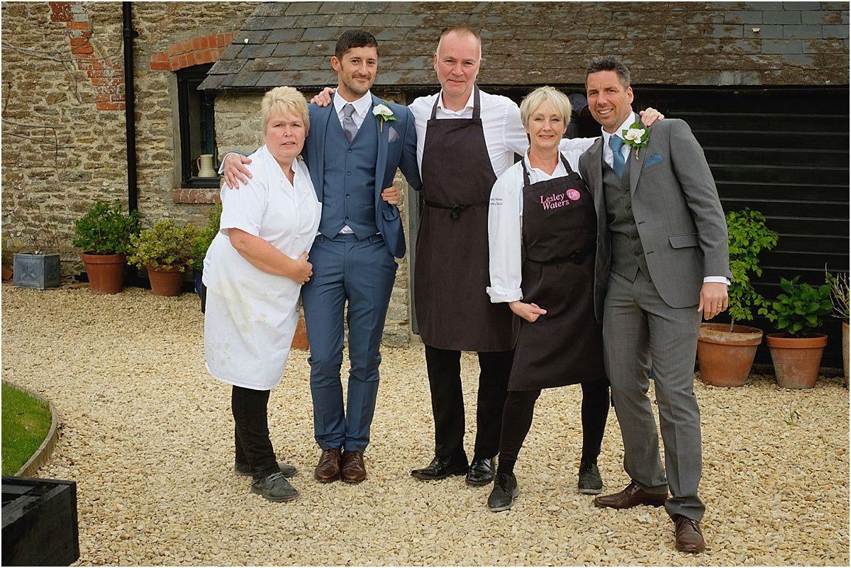 Gay Wedding at Lesley Waters Cookery School