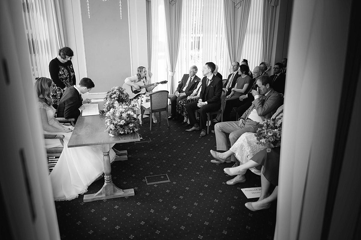 Bridport registry Office wedding