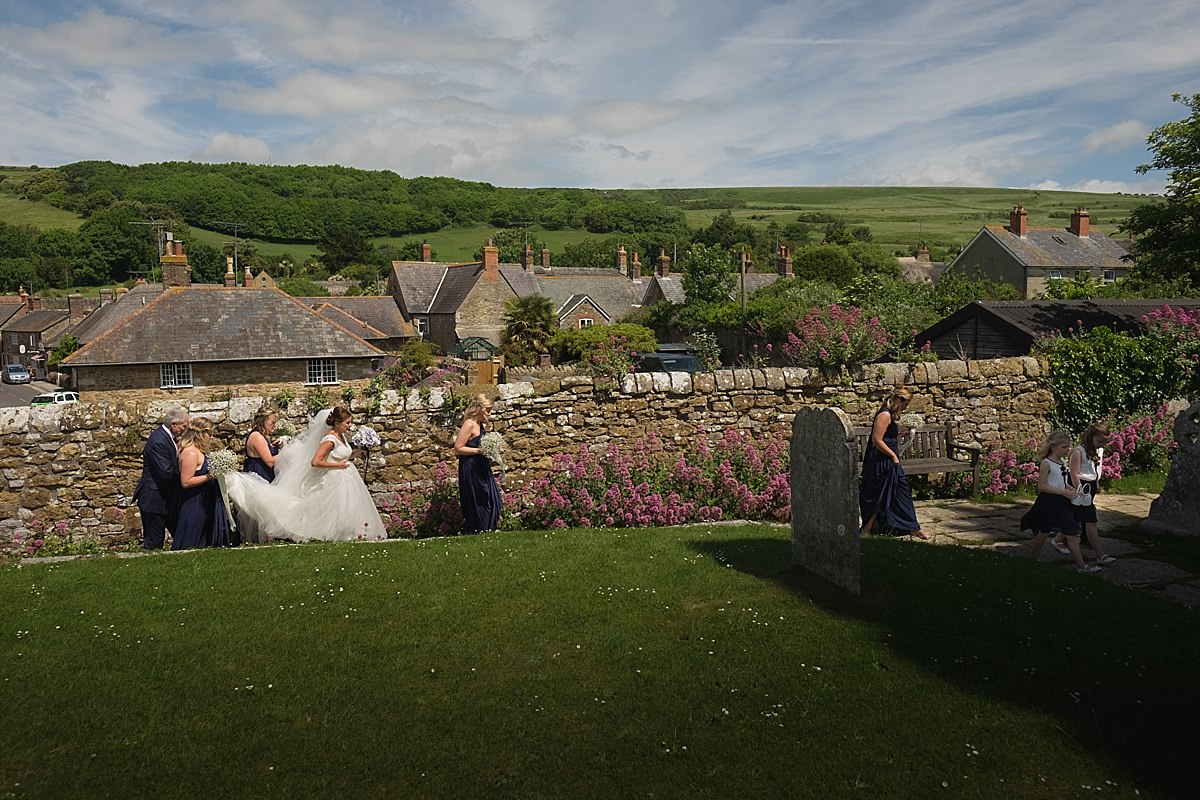 Abbotsbury Church Wedding Ceremony