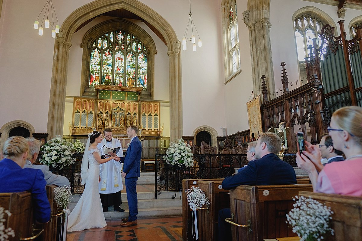 Holy Trinity Weymouth Wedding Photographers