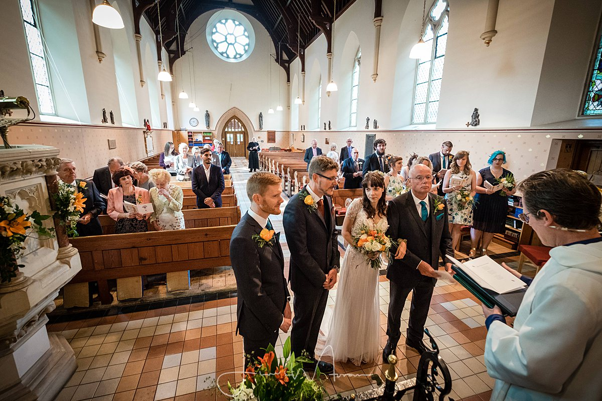 All Saints Church Branksome Wedding