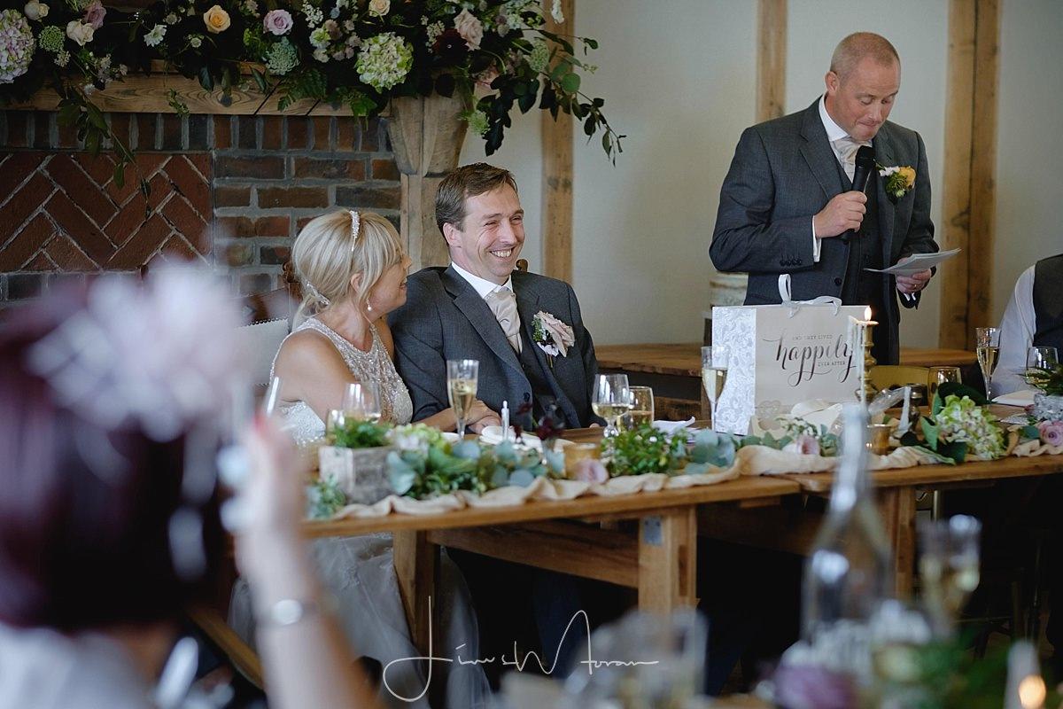 Burley Manor Wedding Speeches