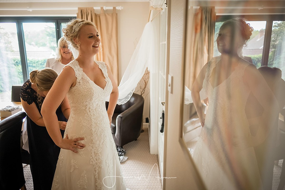 Morning Bridal Preparations