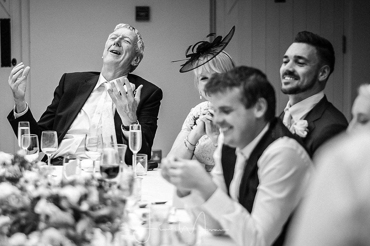 Wedding Breakfast Speeches at Athelhampton House