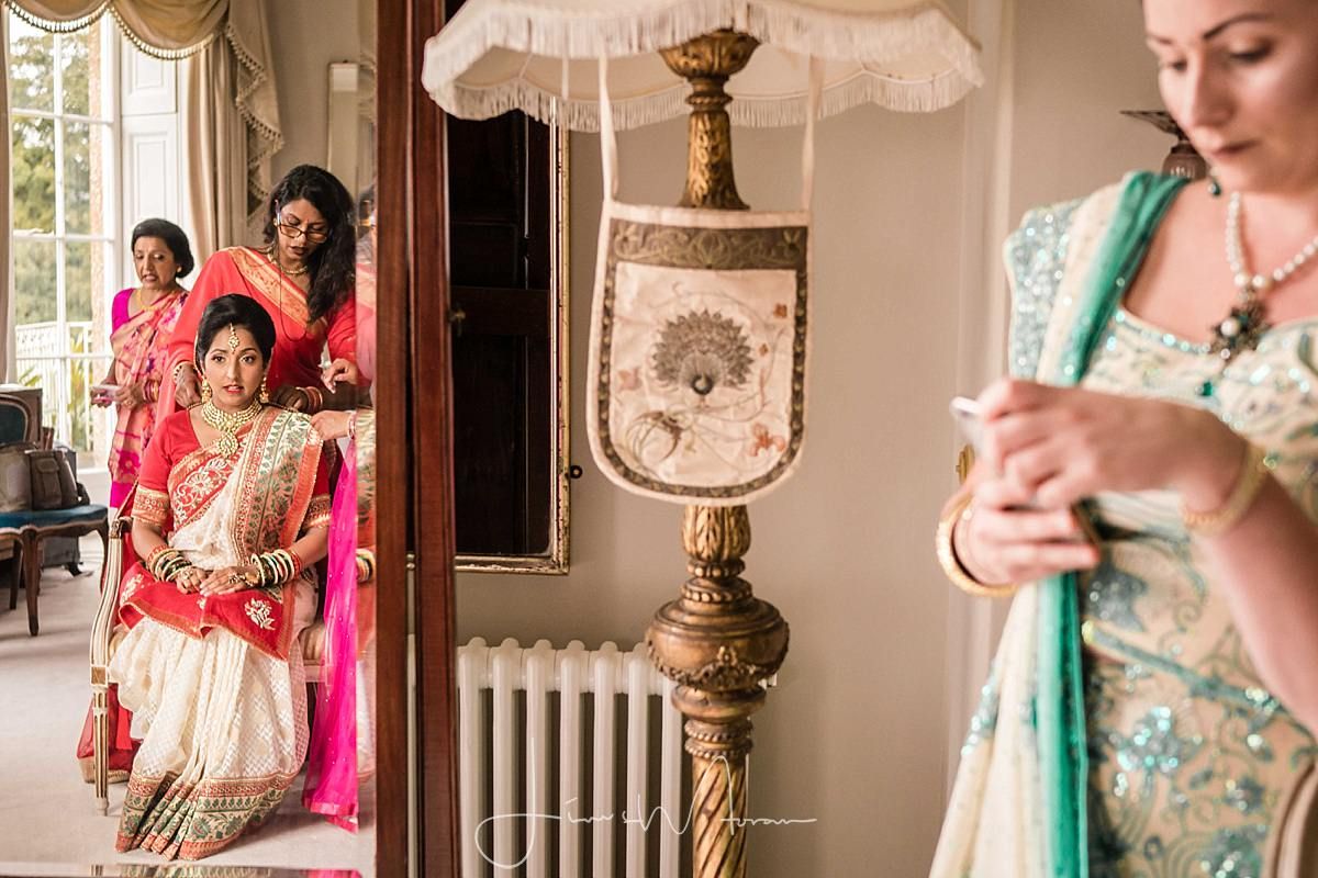 Indian Wedding Bridal Preparations