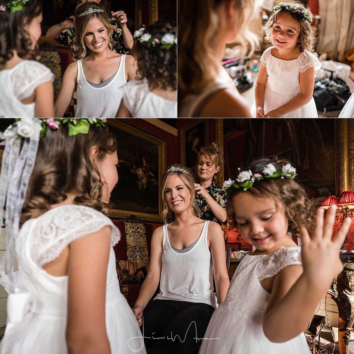 Maunsel House Bridal Preparations