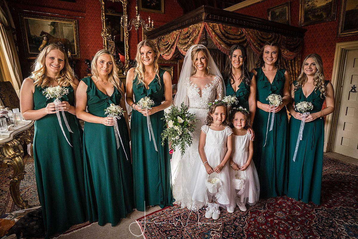 Maunsel House Bride & Bridesmaids