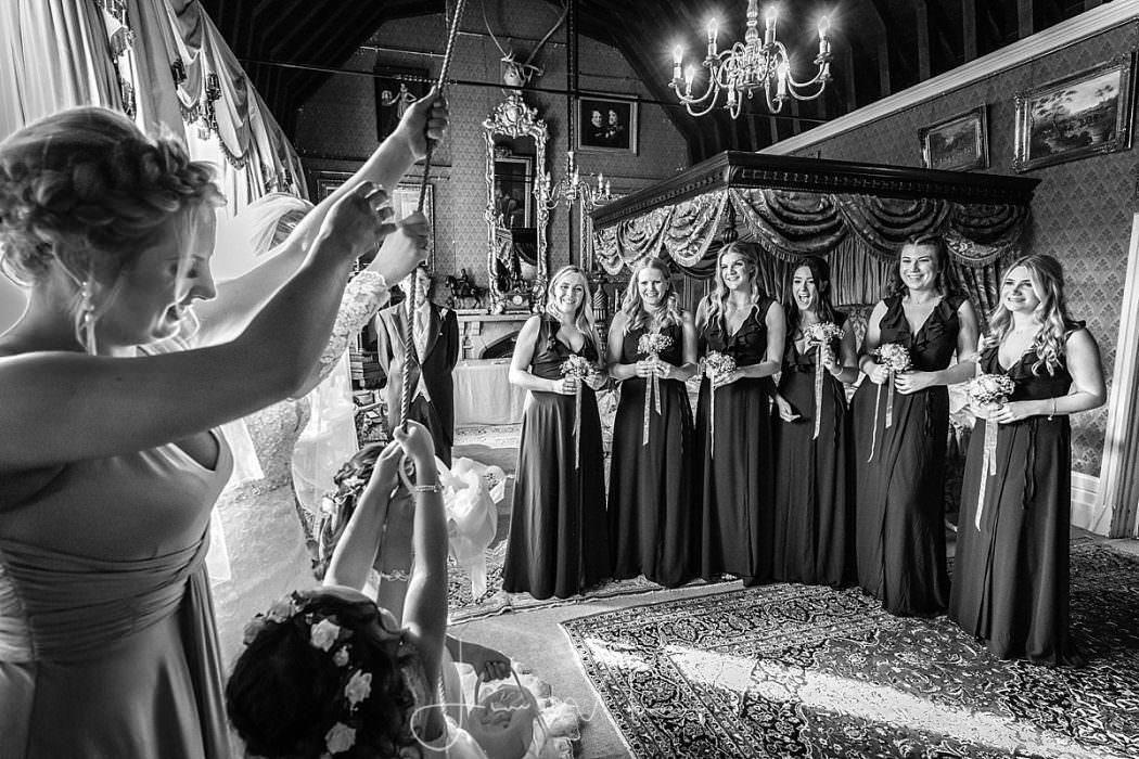 Maunsel House Bridal Preparations