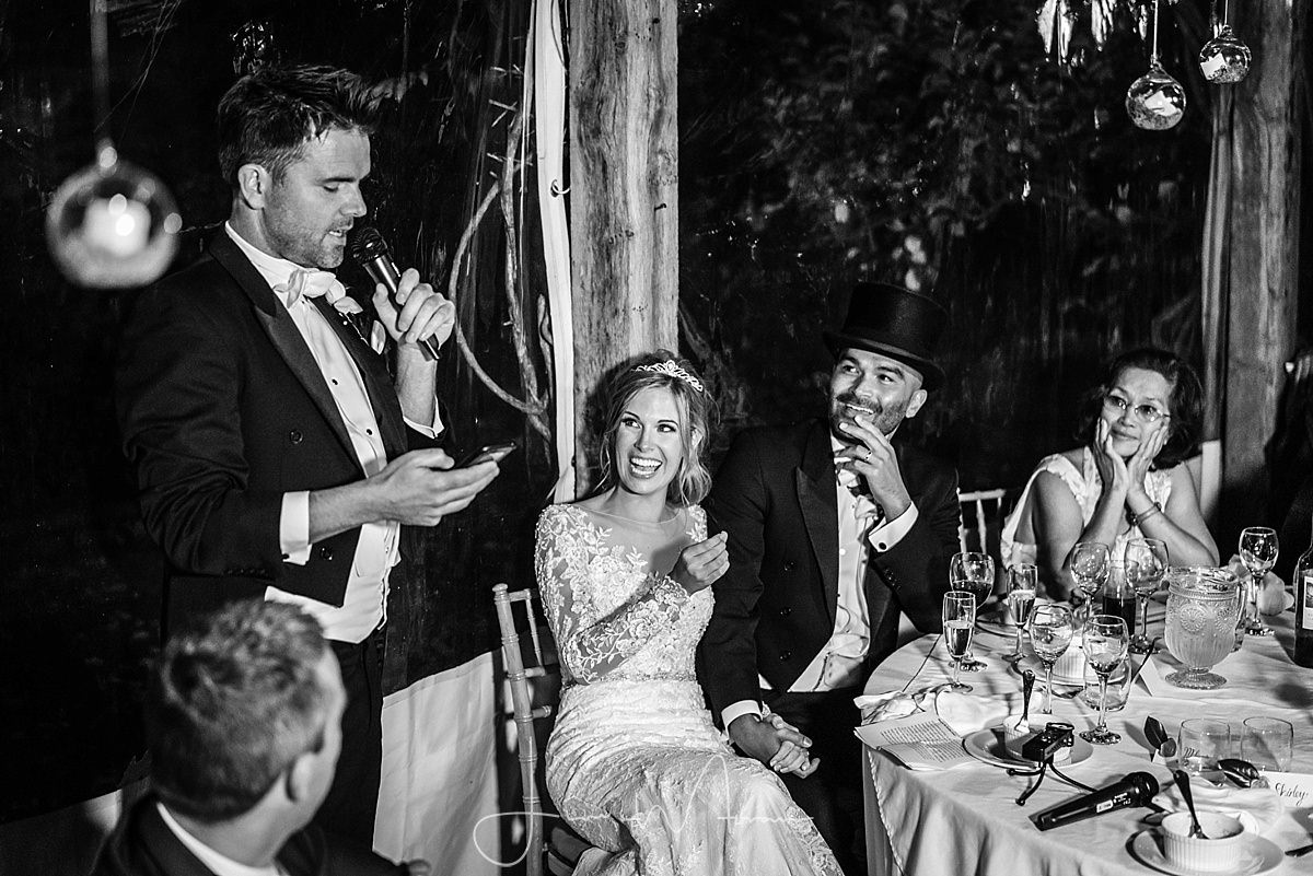 Maunsel House Wedding Speeches