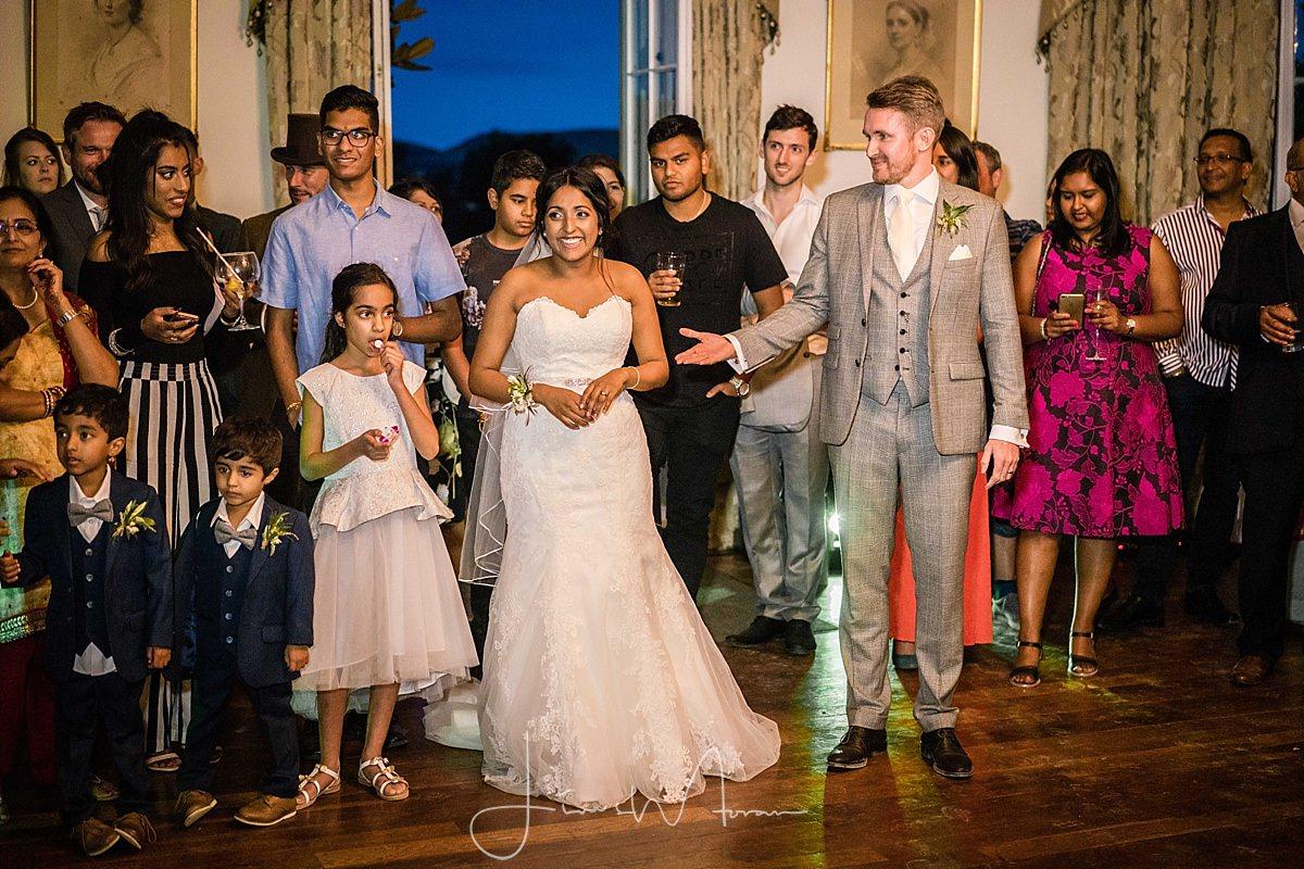 North Cadbury Court Wedding Evening Reception