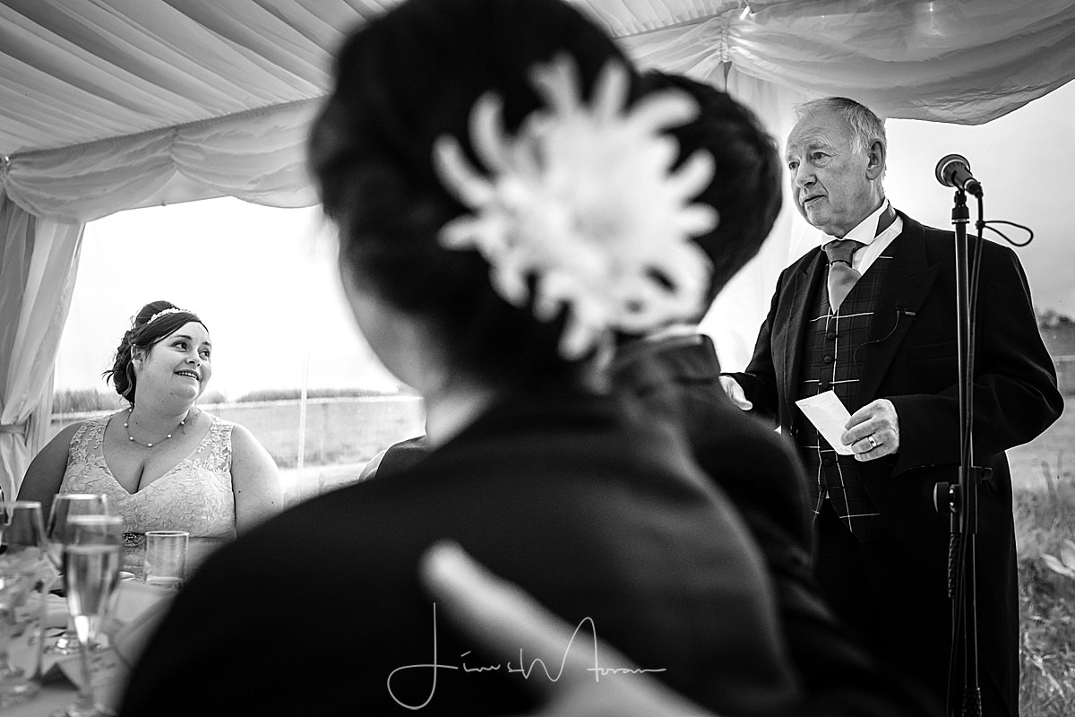 Father of the Bride speaks