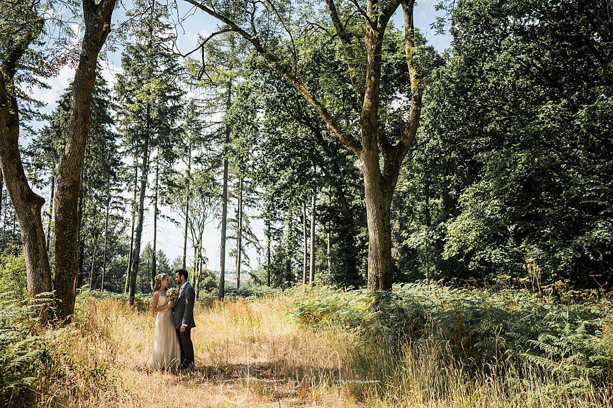 Stockbridge Farm Wedding Couple