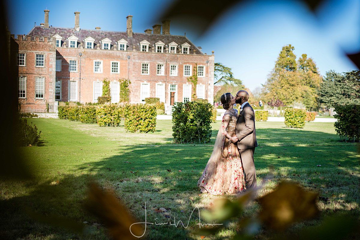 Bride & Groom Portraits at St Giles House