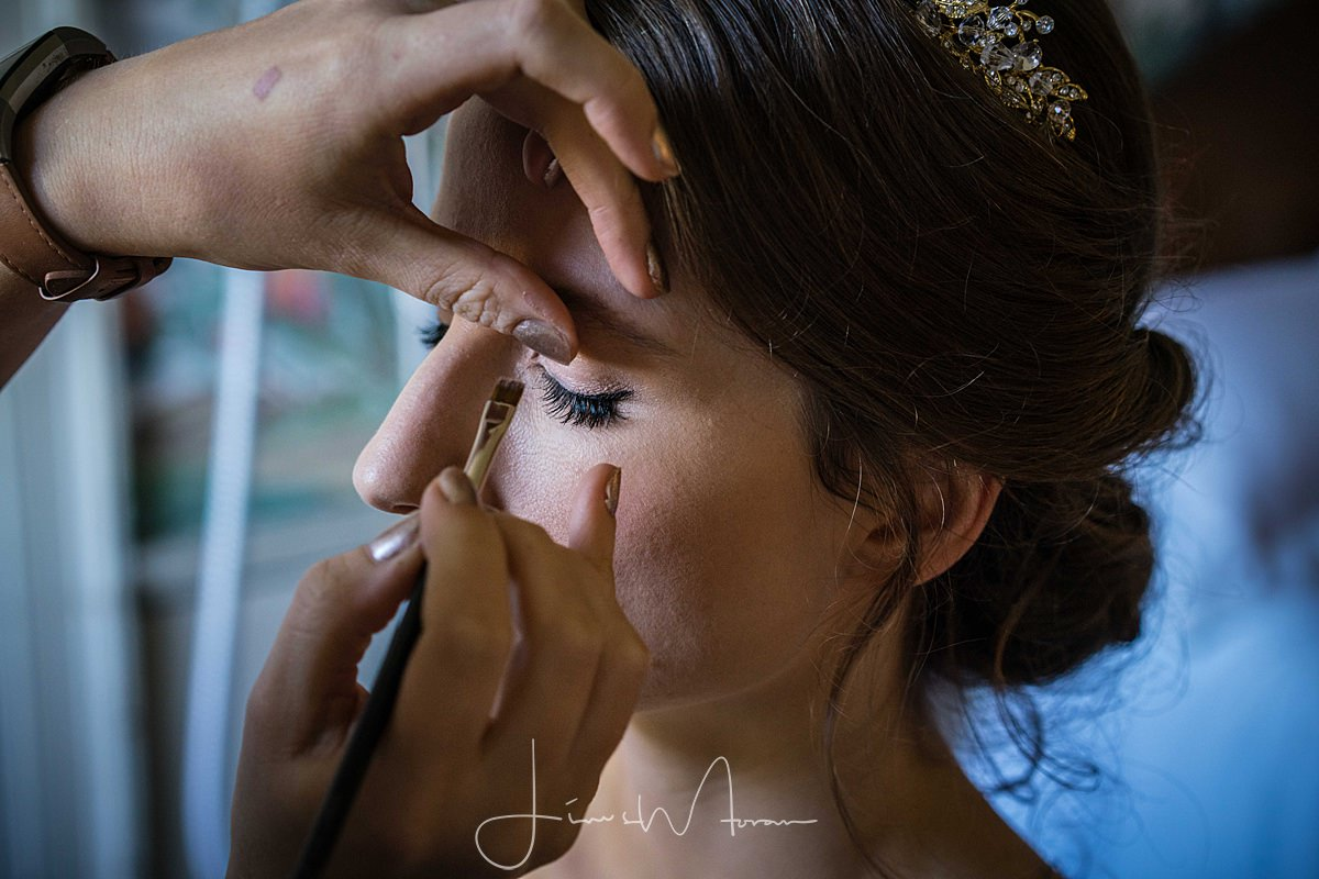 Bridal Preparations at St Giles House