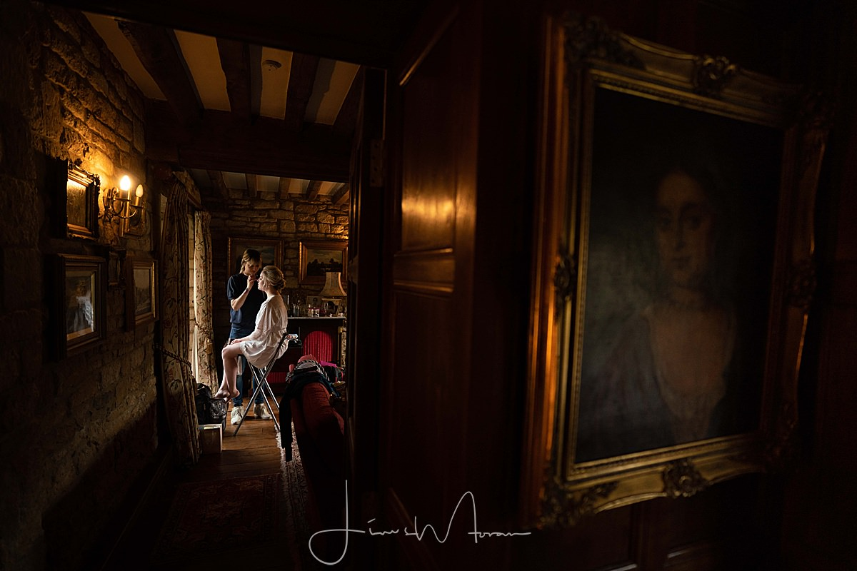 Cotswolds wedding photography Bridal Preparations